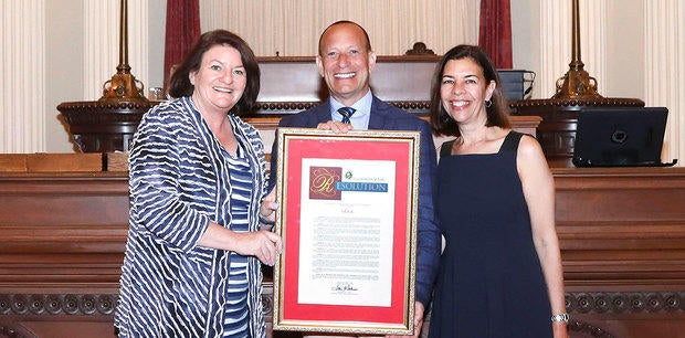 Marketing Agency i.d.e.a. Honored by Senator Toni Atkins