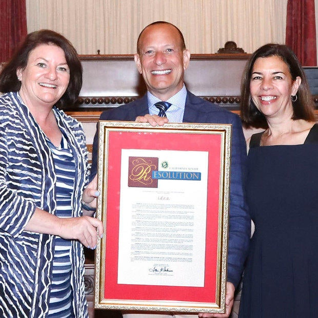 Marketing Agency i.d.e.a. Honored by Senator Toni Atkins