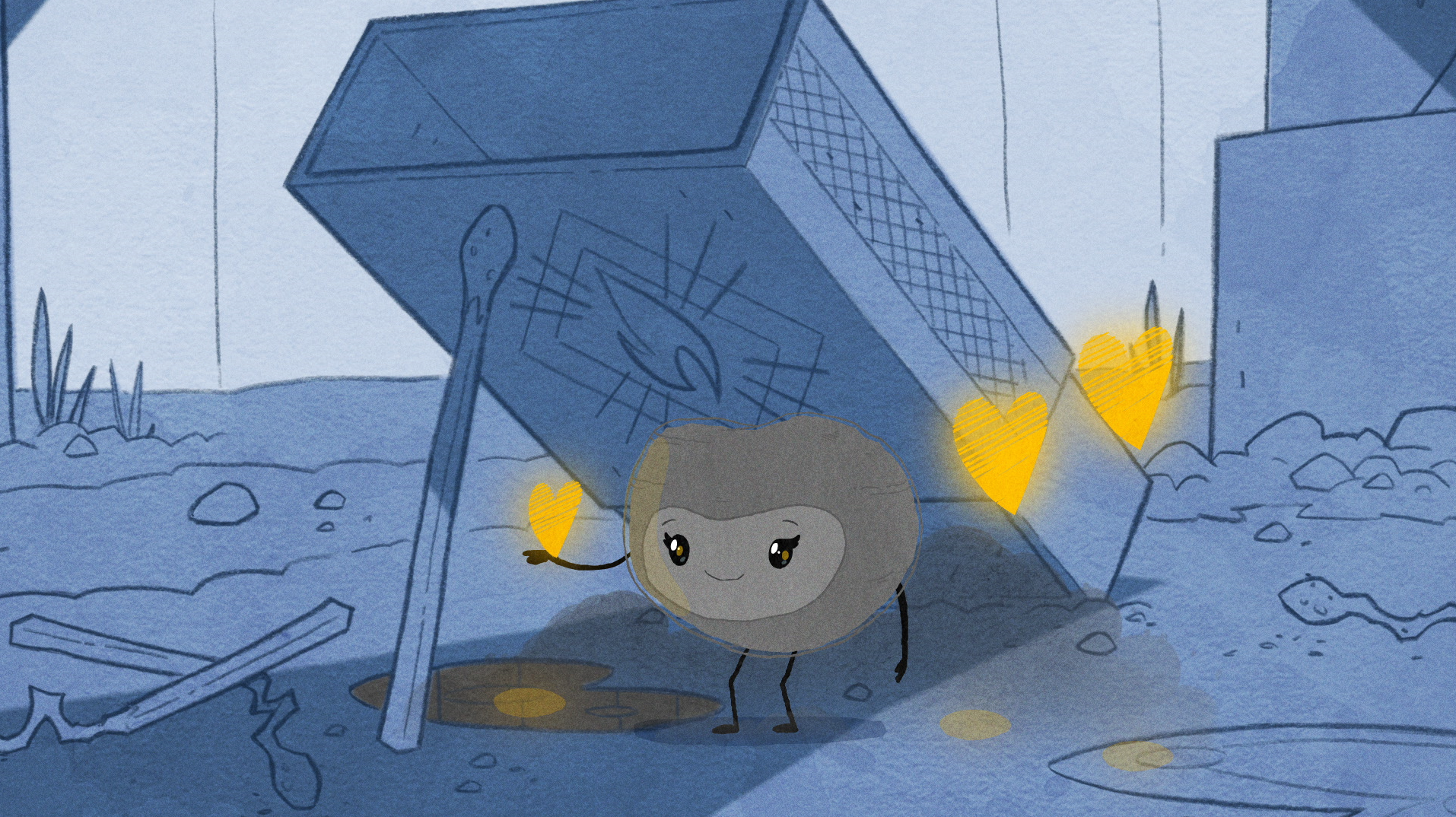 Shining Light on Homelessness through Animation