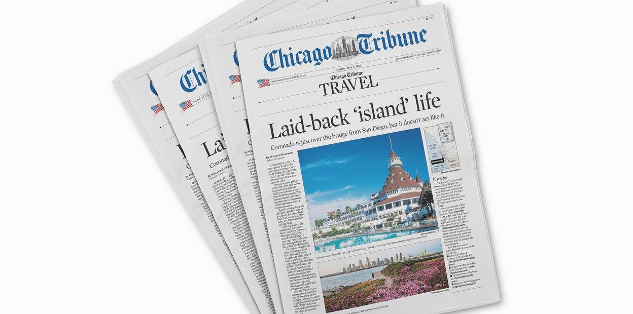 Chicago Tribune Cover Story