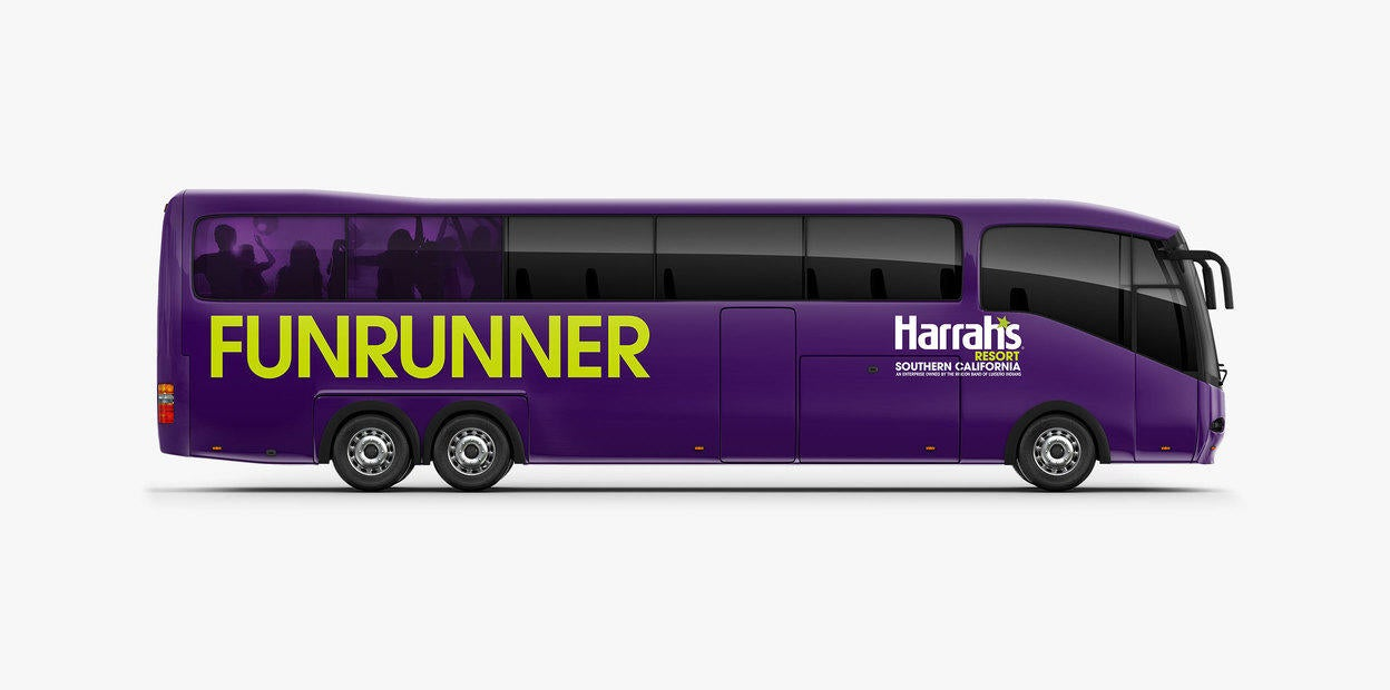 Harrahs Funrunner Bus