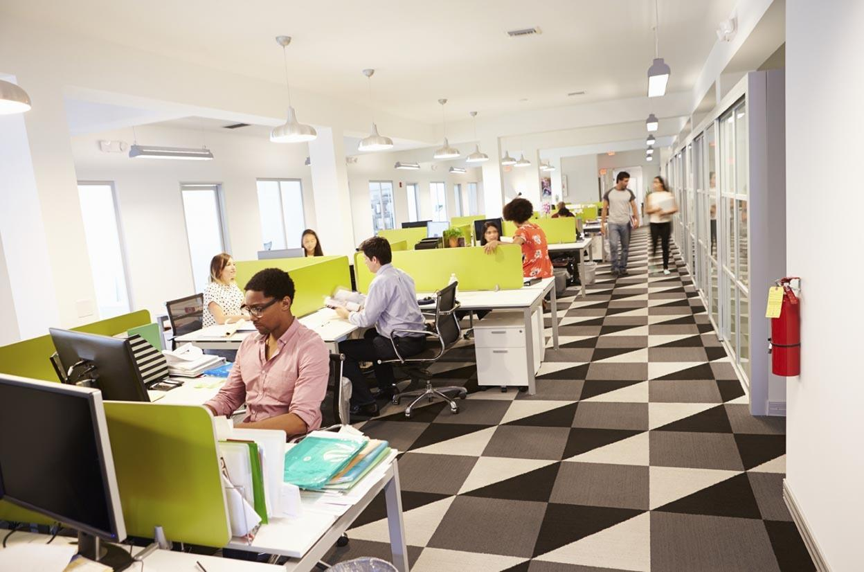 How an open office slows you down